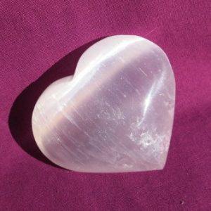 Buy a Selenite Heart