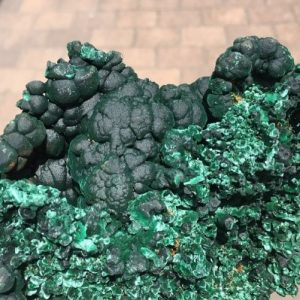 large malachite specimen