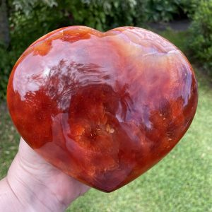 buy huge carnelian crystal heart