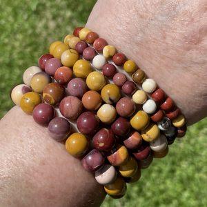 Australian Mookaite Jasper Bracelets