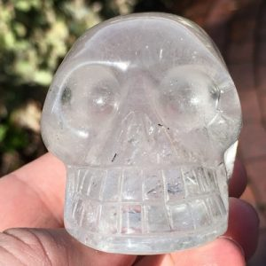 buy clear quartz skull from Brazil