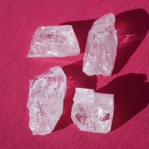 Danburite crystals