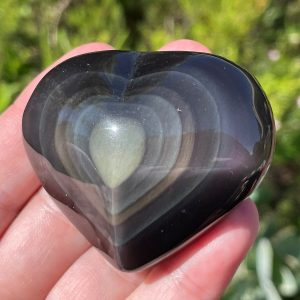 buy Heart in Rainbow Obsidian