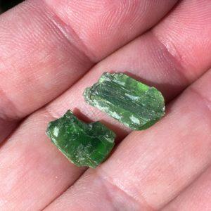 tremolite crystals