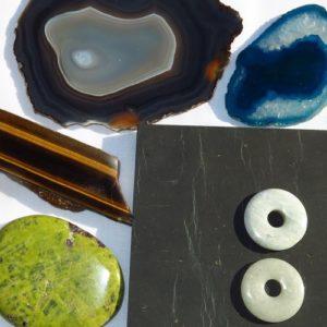 Flat stone, Donut, Slice, Thumb stone