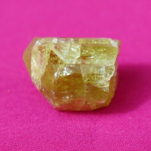 Golden Apatite point