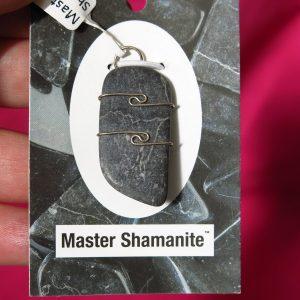 buy Master Shamanite Pendant in Silver