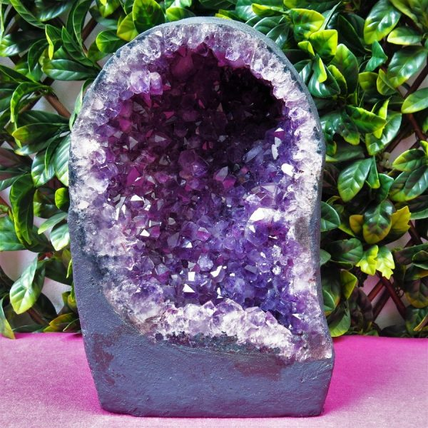 buy Brazilian Amethyst Cave with calcite