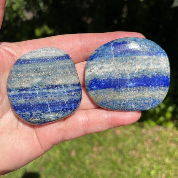 lapis lazuli smooth stone