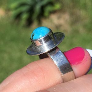 buy Turquoise ring in silver