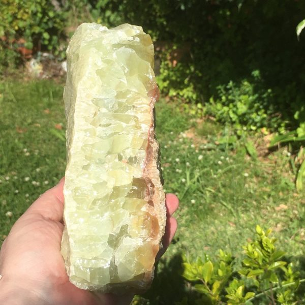 buy large Green Calcite Rough